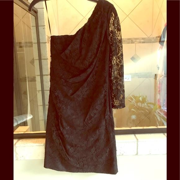 Express Dresses & Skirts - Black Lace Express Dress 🖤